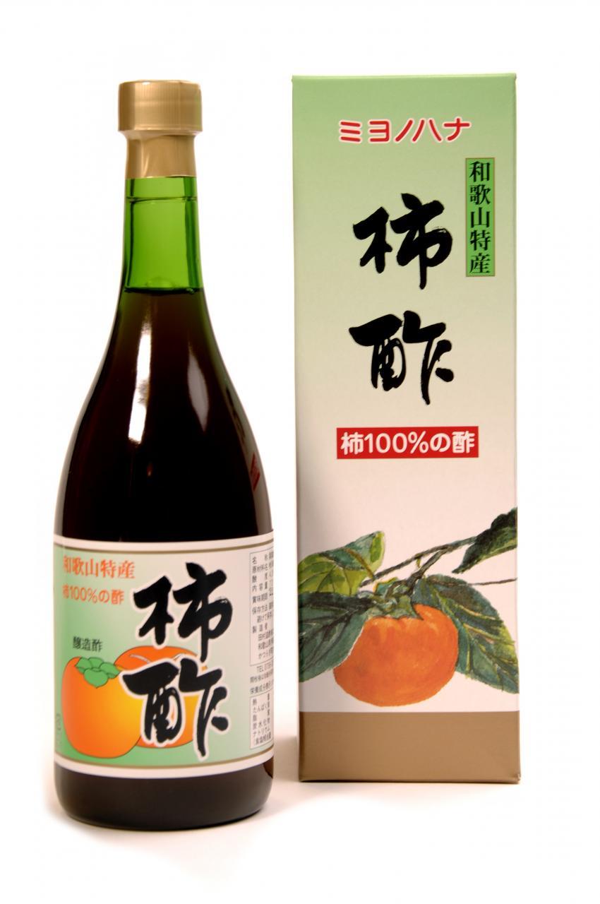ミヨノハナの柿酢